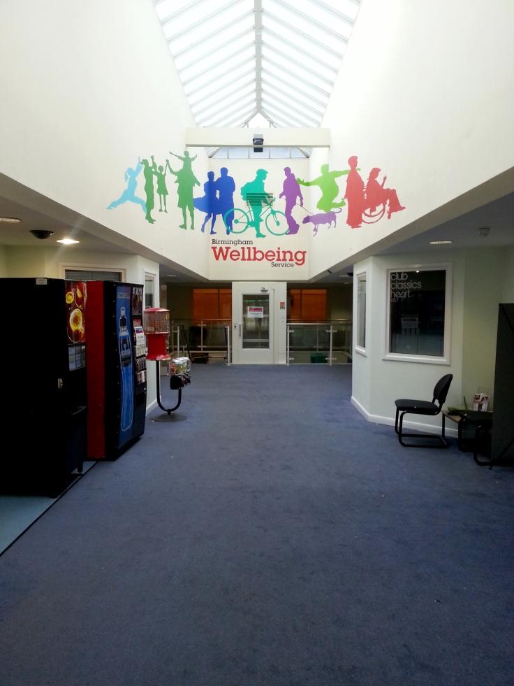 Birmingham Wellbeing Nechells mural